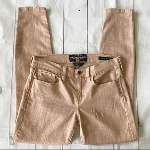 Lucky Brand Sofia Skinny Jeans -Rose Gold -Size 4
